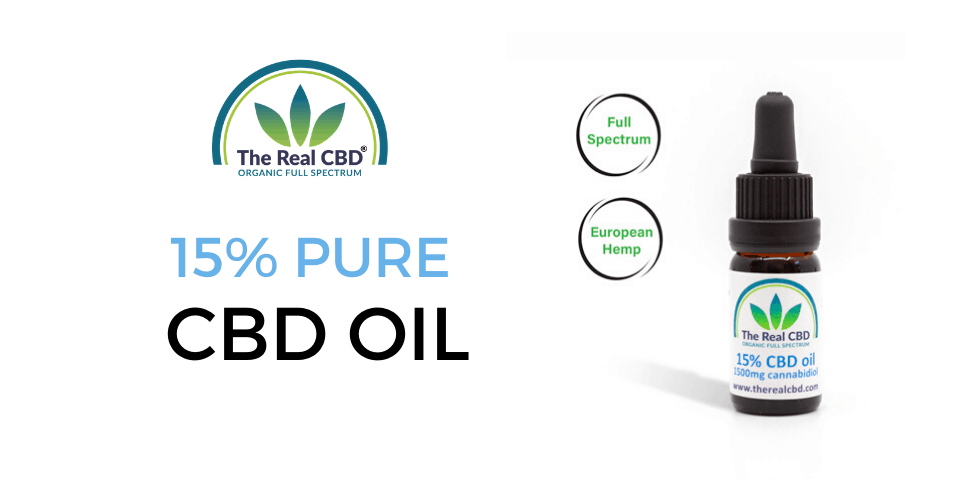 The Real CBD 15% CBD oil