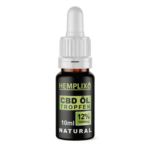 Hemplix 12% CBD oil