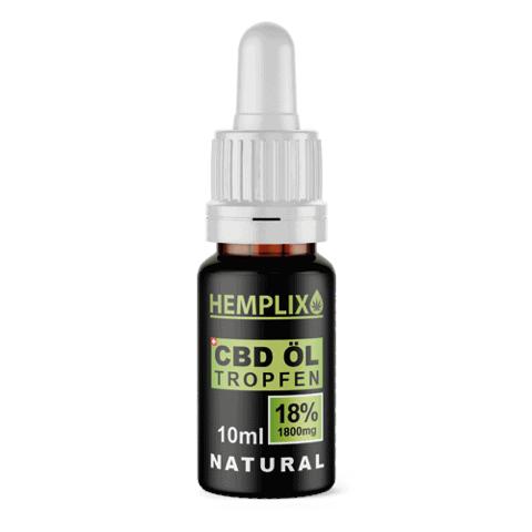 Hemplix 18% CBD oil