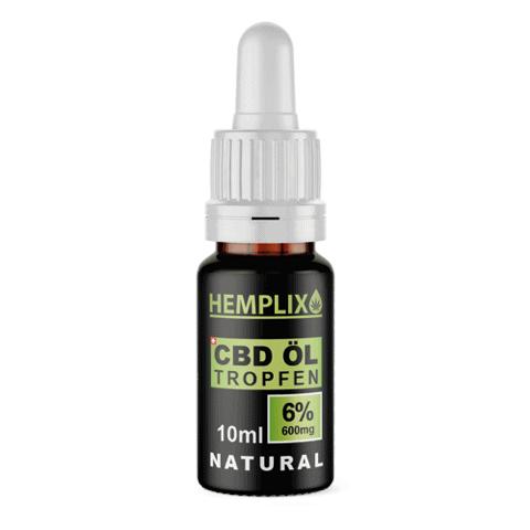 Hemplix 6% CBD oil
