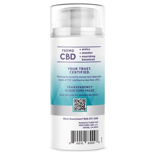 Medterra Fast Cooling CBD Cream