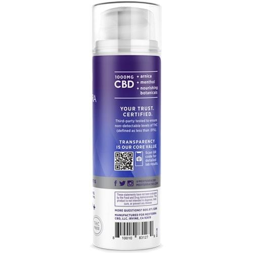 Medterra Pain Relief CBD Cream